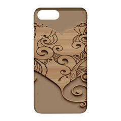 Wood Sculpt Carved Background Apple Iphone 8 Plus Hardshell Case