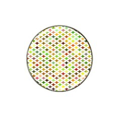 Background Multicolored Star Hat Clip Ball Marker