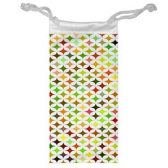 Background Multicolored Star Jewelry Bag