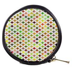 Background Multicolored Star Mini Makeup Bags