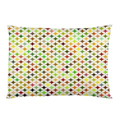 Background Multicolored Star Pillow Case (two Sides)