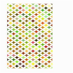 Background Multicolored Star Large Garden Flag (two Sides)