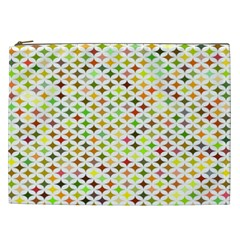 Background Multicolored Star Cosmetic Bag (xxl)