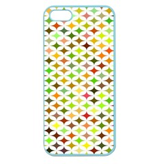Background Multicolored Star Apple Seamless Iphone 5 Case (color)