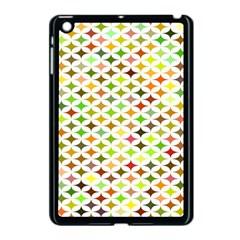 Background Multicolored Star Apple Ipad Mini Case (black)