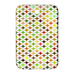 Background Multicolored Star Samsung Galaxy Note 8 0 N5100 Hardshell Case