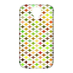 Background Multicolored Star Samsung Galaxy S4 Classic Hardshell Case (pc+silicone)