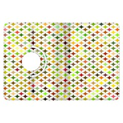 Background Multicolored Star Kindle Fire Hdx Flip 360 Case