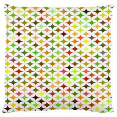 Background Multicolored Star Standard Flano Cushion Case (one Side)