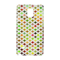 Background Multicolored Star Samsung Galaxy Note 4 Hardshell Case