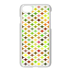 Background Multicolored Star Apple Iphone 8 Seamless Case (white)