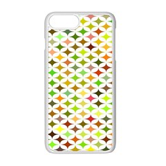 Background Multicolored Star Apple Iphone 8 Plus Seamless Case (white)