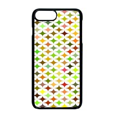 Background Multicolored Star Apple Iphone 8 Plus Seamless Case (black)