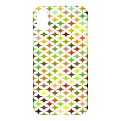Background Multicolored Star Apple Iphone X Hardshell Case