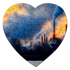 Warming Global Environment Nature Jigsaw Puzzle (heart)