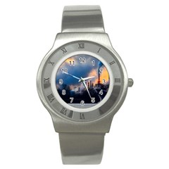 Warming Global Environment Nature Stainless Steel Watch