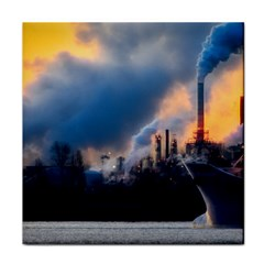 Warming Global Environment Nature Face Towel