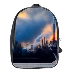Warming Global Environment Nature School Bag (large)