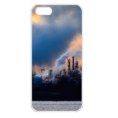 Warming Global Environment Nature Apple Iphone 5 Seamless Case (white)