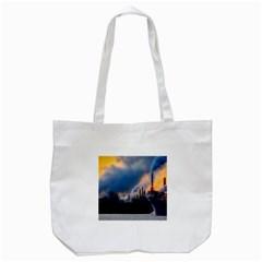 Warming Global Environment Nature Tote Bag (white)