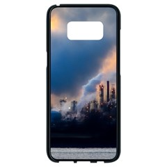 Warming Global Environment Nature Samsung Galaxy S8 Black Seamless Case