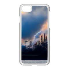 Warming Global Environment Nature Apple Iphone 8 Seamless Case (white)
