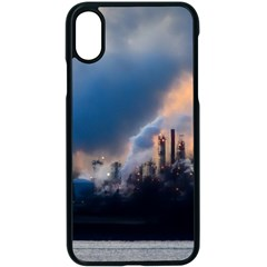 Warming Global Environment Nature Apple Iphone X Seamless Case (black)