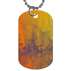 Fiesta Colorful Background Dog Tag (two Sides)