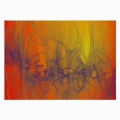 Fiesta Colorful Background Large Glasses Cloth