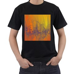 Fiesta Colorful Background Men s T Shirt (black)