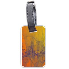 Fiesta Colorful Background Luggage Tags (one Side)