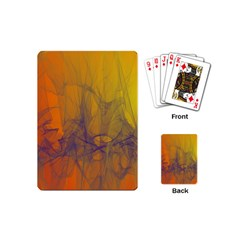 Fiesta Colorful Background Playing Cards (mini)
