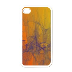 Fiesta Colorful Background Apple Iphone 4 Case (white)