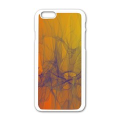 Fiesta Colorful Background Apple Iphone 6/6s White Enamel Case