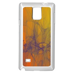 Fiesta Colorful Background Samsung Galaxy Note 4 Case (white)