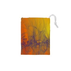 Fiesta Colorful Background Drawstring Pouches (xs)