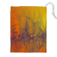 Fiesta Colorful Background Drawstring Pouches (xxl)