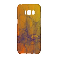 Fiesta Colorful Background Samsung Galaxy S8 Hardshell Case