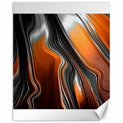 Fractal Structure Mathematics Canvas 16  X 20