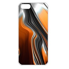 Fractal Structure Mathematics Apple Iphone 5 Seamless Case (white)