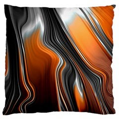 Fractal Structure Mathematics Large Flano Cushion Case (one Side)