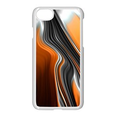 Fractal Structure Mathematics Apple Iphone 8 Seamless Case (white)
