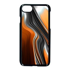 Fractal Structure Mathematics Apple Iphone 8 Seamless Case (black)
