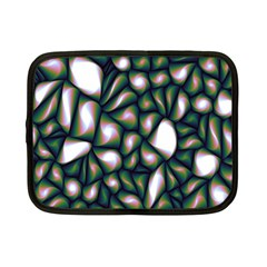 Fuzzy Abstract Art Urban Fragments Netbook Case (small)