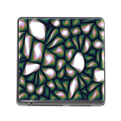 Fuzzy Abstract Art Urban Fragments Memory Card Reader (square)