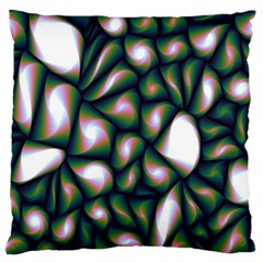 Fuzzy Abstract Art Urban Fragments Standard Flano Cushion Case (two Sides)