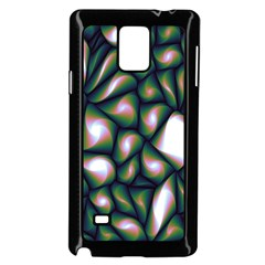 Fuzzy Abstract Art Urban Fragments Samsung Galaxy Note 4 Case (black)