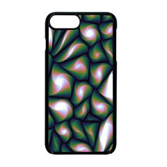 Fuzzy Abstract Art Urban Fragments Apple Iphone 8 Plus Seamless Case (black)