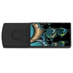 Fractal Art Artwork Digital Art Rectangular Usb Flash Drive
