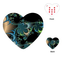Fractal Art Artwork Digital Art Playing Cards (heart)